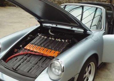La conversion électrique des voitures anciennes