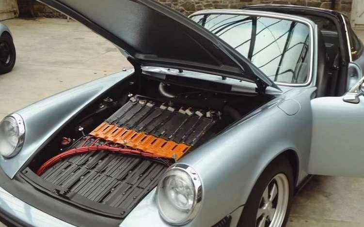 Conversion voitures anciennes à l'electrique